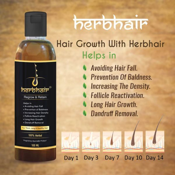 herbhair- Hair Regrowth oil