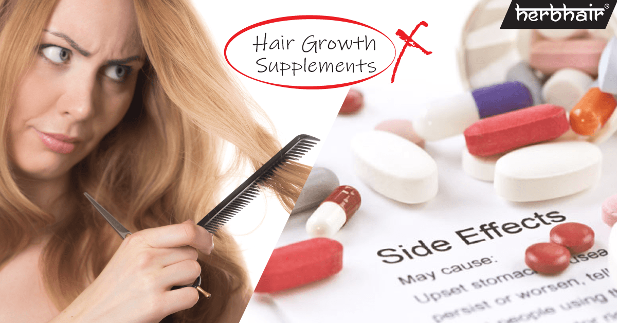 Shocking Side Effects and Facts about Hair Growth Supplements